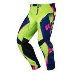 Pantalon KENNY TRACK - Marine Lime Rose Fluo
