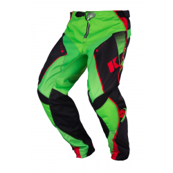 Pantalon KENNY TRACK - Noir Vert Rouge
