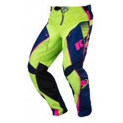Pantalon enfant KENNY TRACK - Marine Lime Rose Fluo