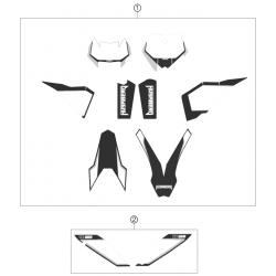 Kit déco - Stickers