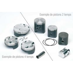 Piston complet forgé bi-segments TECNIUM - KTM/HSB/HVA 125