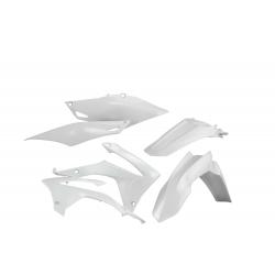 Kit plastiques complet ACERBIS HONDA CRF250R '14/17 CRF450R '13/16 - Blanc