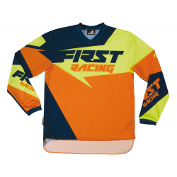 Maillot enfant DATA 2017 FIRST RACING - Orange