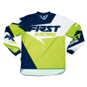 Maillot DATA 2017 FIRST RACING - Vert fluo