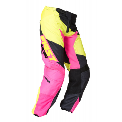 Pantalon enfant DATA 2017 FIRST RACING - Rose fluo