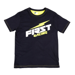 T-shirt FIRST RACING - Bleu