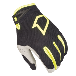Gants DATA 2017 FIRST RACING - Noir / Jaune fluo