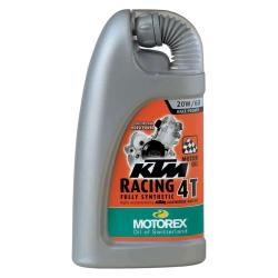 Huile moteur 4 temps MOTOREX KTM RACING 4T 20W60 - 1L