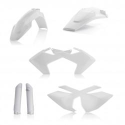 Kit plastiques super complet ACERBIS HUSQVARNA TE/€FE '17 - Blanc