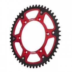Couronne bi-métal SUPERSPROX STEALTH rouge CE206 - Pas 520