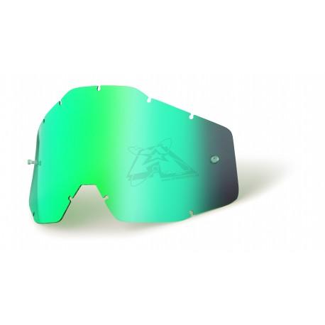 Écran 100% RACECRAFT/ACCURI/STRATA - Anti-buée miroir vert