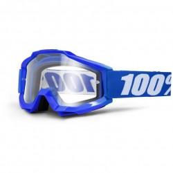 Lunettes 100% ACCURI OTG - Reflex blue // Écran clair