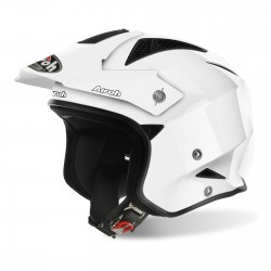 Casque AIROH Trial - Blanc brillant
