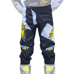 Pantalon officiel team Atomic - Blanc / Noir