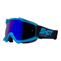 Lunettes SHOT Iris - Mat Bleu transparent