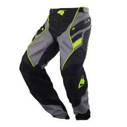 Pantalon KENNY Titanium - Gris / Jaune fluo