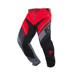 Pantalon enfant KENNY Track - Rouge / Gris