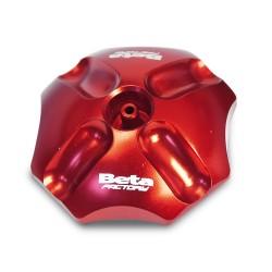Bouchon de réservoir beta anodisé rouge