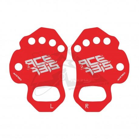 Sous-gants anti-ampoules ACERBIS - Rouge
