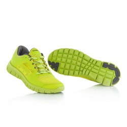 Chaussures running corporate ACERBIS - Jaune fluo