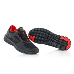Chaussures running corporate ACERBIS - Noir Rouge