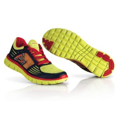 Chaussures running corporate ACERBIS - Jaune Rouge