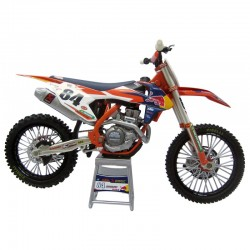 Maquette 1/12 KTM 450 SX-F 2017 Jeffrey HERLINGS