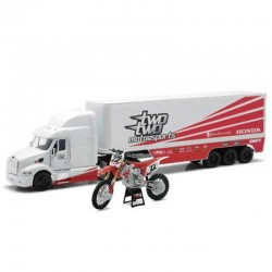 Pack maquettes 1/12 Moto + Camion Chad REED