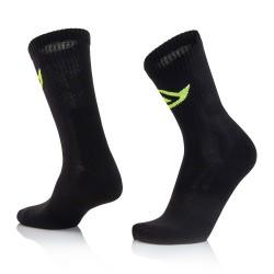 Chaussettes coton hautes ACERBIS - Noir