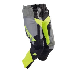 Pantalon enfant CODE KID FIRSTRACING - Gris / Lime fluo