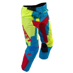 Pantalon enfant CODE KID FIRSTRACING - Bleu / Lime fluo