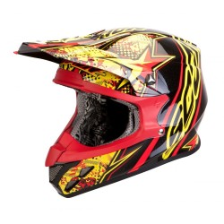 Casque SCORPION VX-20 AIR Jaune Rouge