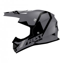 Casque K2 Evo FIRSTRACING - Gris métal /Gris/Noir