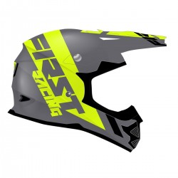 Casque K2 Evo FIRSTRACING - Gris métal/Fluo/Noir