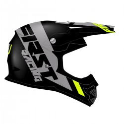 Casque K2 Evo FIRSTRACING - Noir / Gris / Fluo