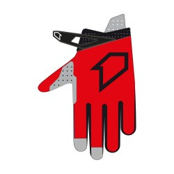 Gants DATA Evo FIRSTRACING - Rouge / Noir