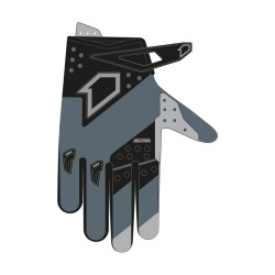 Gants SCAN Race FIRSTRACING - Gris / Noir