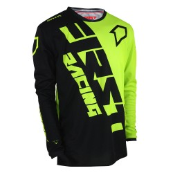 Maillot DATA Evo MID FIRSTRACING - Noir / Fluo