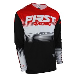 Maillot DATA Evo ST FIRSTRACING - Rouge / Noir