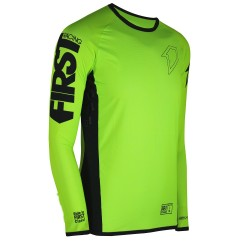 Maillot Skinny Fit FIRSTRACING - Jaune Fluo