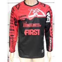 Maillot Atomic SCAN Race 2019 - Noir / Rouge