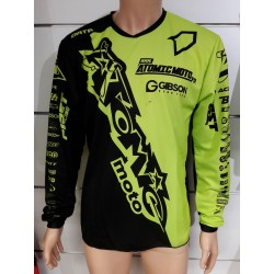Maillot Atomic DATA Mid 2019 - Noir / Fluo