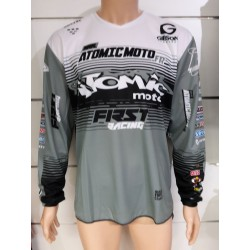 Maillot Atomic DATA ST 2019 - Gris / Noir