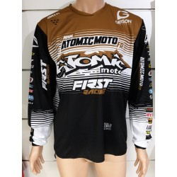 Maillot Atomic DATA ST 2019 - Noir / Or