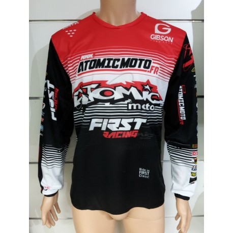 Maillot Atomic DATA ST 2019 - Rouge / Noir