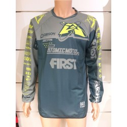 Maillot Atomic SCAN Race 2019 - Gris / Fluo