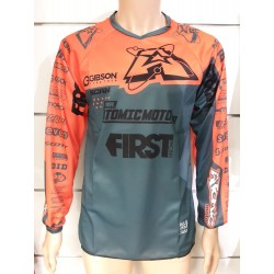 Maillot Atomic SCAN Race 2019 - Gris / Orange