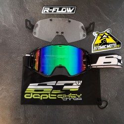 Masque DEPT63 Noir + Kit R-FLOW