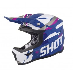 Casque SHOT FURIOUS Score - Bleu Rose