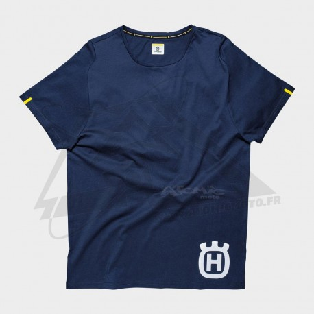 Tshirt HUSQVARNA Inventor - Bleu